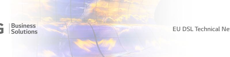 LG EU Display Solutions Lab (DSL) Newsletter Vol.2